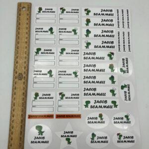 Custom Name Labels
